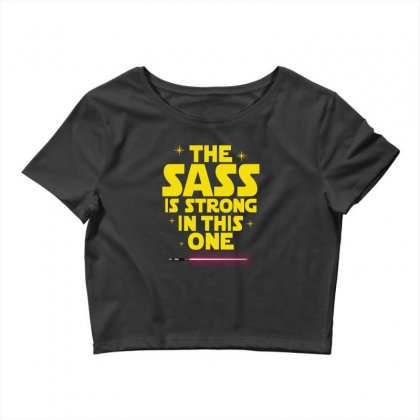 The Sass Is Strong In This One Crop Top Designed By Sengul