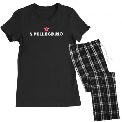 San Pellegrino For Dark Women's Pajamas Set Designed By Nurbetulk