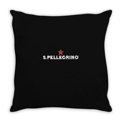 San Pellegrino For Dark Throw Pillow Designed By Nurbetulk