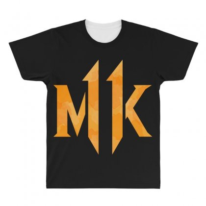 Mk 11 All Over Men's T-shirt Designed By Nurbetulk