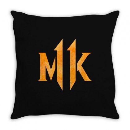 Mk 11 Throw Pillow Designed By Nurbetulk
