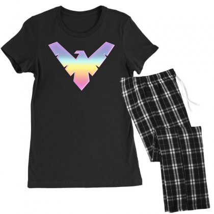 Nightwing Symbol Women's Pajamas Set Designed By Sengul