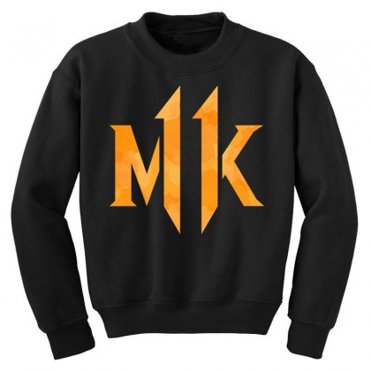 Mk 11 Youth Sweatshirt Designed By Nurbetulk