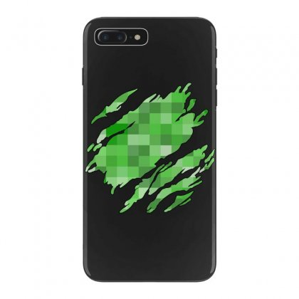 Minecraft Creeper Iphone 7 Plus Case Designed By Sengul
