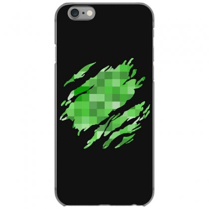 Minecraft Creeper Iphone 6/6s Case Designed By Sengul