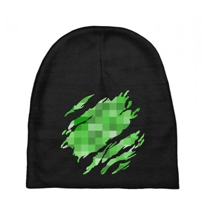 Minecraft Creeper Baby Beanies Designed By Sengul