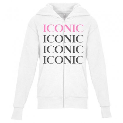 Iconic Jeffree Star For Light Youth Zipper Hoodie Designed By Nurbetulk
