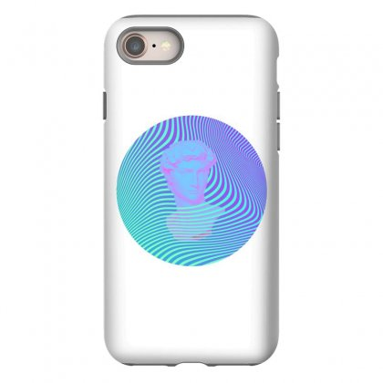 Vaporwave Sculpture Abstract Stripes Iphone 8 Case Designed By Seniha