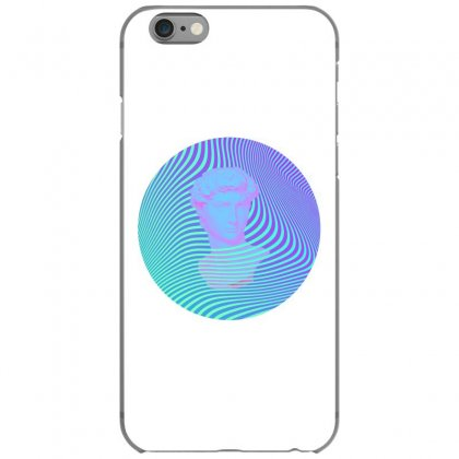 Vaporwave Sculpture Abstract Stripes Iphone 6/6s Case Designed By Seniha
