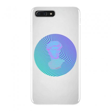 Vaporwave Sculpture Abstract Stripes Iphone 7 Plus Case Designed By Seniha