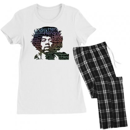 Jimi Hendrix Women's Pajamas Set Designed By Sengul