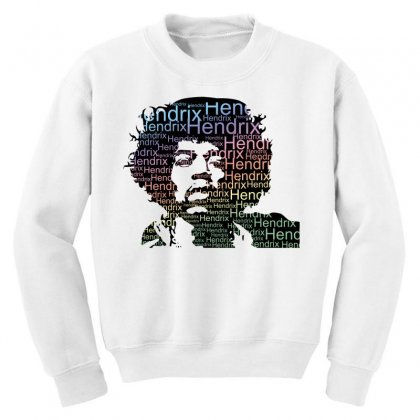Jimi Hendrix Youth Sweatshirt Designed By Sengul