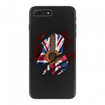 British Guitar Flag Inside Iphone 7 Plus Case Designed By Sengul