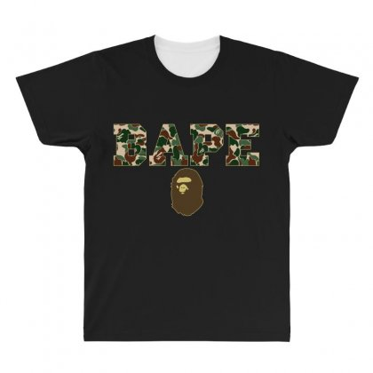 Bape Camo All Over Men's T-shirt Designed By Sengul
