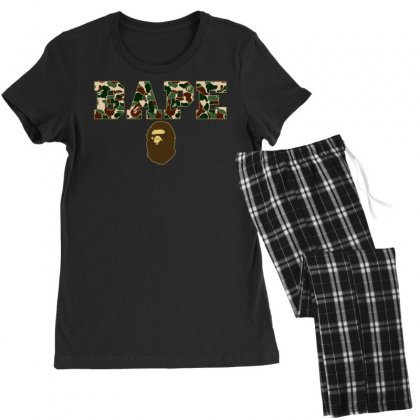 Bape Camo Women's Pajamas Set Designed By Sengul