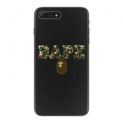 Bape Camo Iphone 7 Plus Case Designed By Sengul