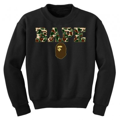 Bape Camo Youth Sweatshirt Designed By Sengul