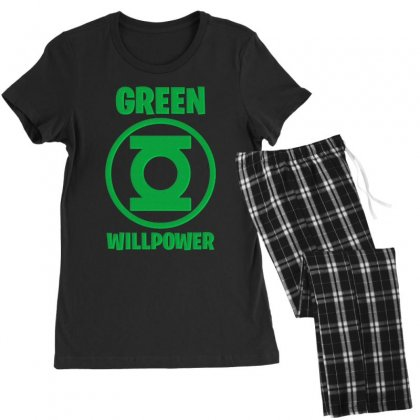 Green Willpower Women's Pajamas Set Designed By Sengul