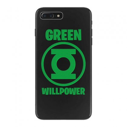 Green Willpower Iphone 7 Plus Case Designed By Sengul