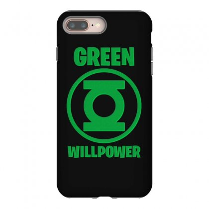 Green Willpower Iphone 8 Plus Case Designed By Sengul