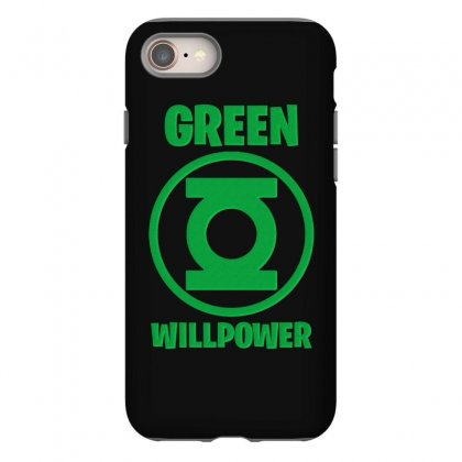 Green Willpower Iphone 8 Case Designed By Sengul