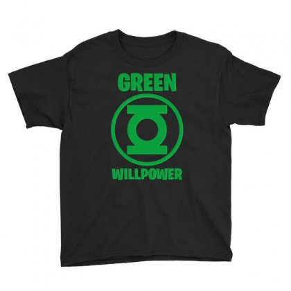 Green Willpower Youth Tee Designed By Sengul