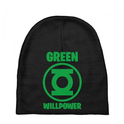 Green Willpower Baby Beanies Designed By Sengul