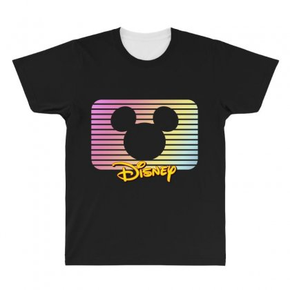 Disney Mickey Mouse All Over Men's T-shirt Designed By Sengul