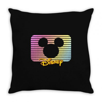 Disney Mickey Mouse Throw Pillow Designed By Sengul