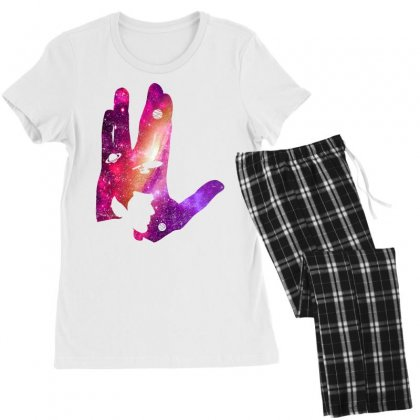 Vulcan Spock Star Trek For Light Women's Pajamas Set Designed By Nurbetulk