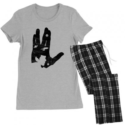 Vulcan Spock Star Trek Women's Pajamas Set Designed By Nurbetulk
