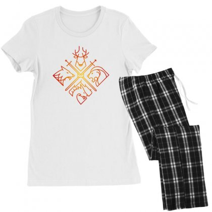 Game Of Thrones Houses For Light Women's Pajamas Set Designed By Nurbetulk