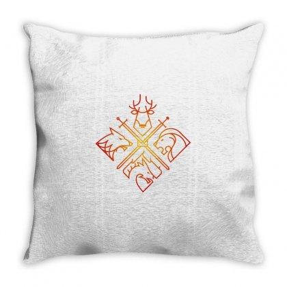 Game Of Thrones Houses For Light Throw Pillow Designed By Nurbetulk