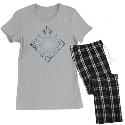 Game Of Thrones Houses For Dark Women's Pajamas Set Designed By Nurbetulk