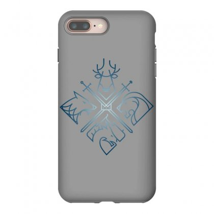 Game Of Thrones Houses For Dark Iphone 8 Plus Case Designed By Nurbetulk