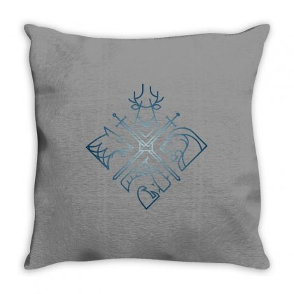 Game Of Thrones Houses For Dark Throw Pillow Designed By Nurbetulk