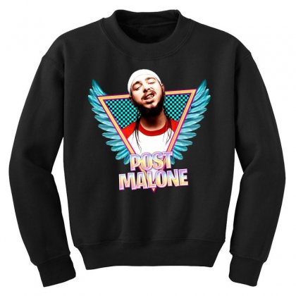 Post Malone Youth Sweatshirt Designed By Sengul