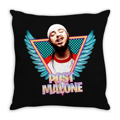 Post Malone Throw Pillow Designed By Sengul