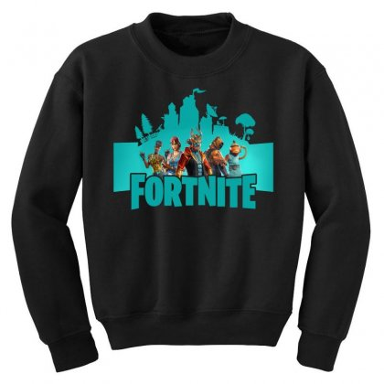 Fortnite New Season Youth Sweatshirt Designed By Nurbetulk