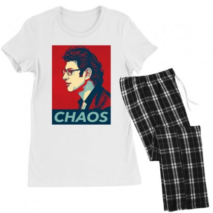 Dr Ian Malcolm Chaos Women's Pajamas Set Designed By Nurbetulk