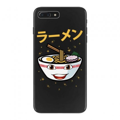 Cute Ramen For Dark Iphone 7 Plus Case Designed By Nurbetulk