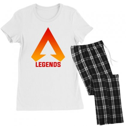 Apex Legends Merch Icon For Light Women's Pajamas Set Designed By Nurbetulk