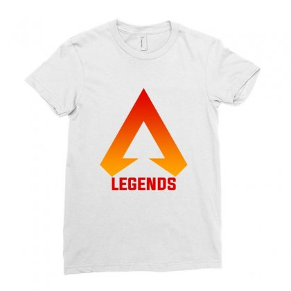 Apex Legends Merch Icon For Light Ladies Fitted T-shirt Designed By Nurbetulk