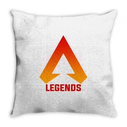Apex Legends Merch Icon For Light Throw Pillow Designed By Nurbetulk
