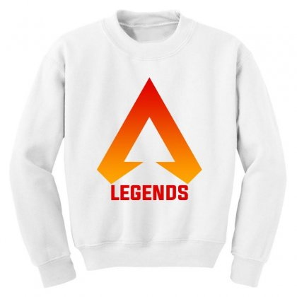 Apex Legends Merch Icon For Light Youth Sweatshirt Designed By Nurbetulk