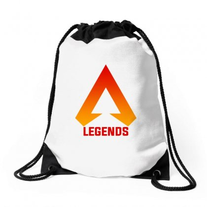 Apex Legends Merch Icon For Light Drawstring Bags Designed By Nurbetulk