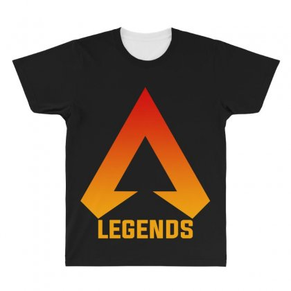 Apex Legends Merch Icon For Dark All Over Men's T-shirt Designed By Nurbetulk