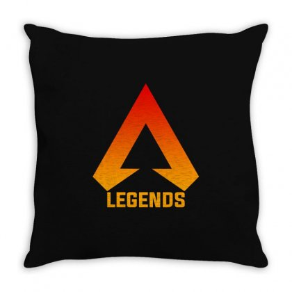 Apex Legends Merch Icon For Dark Throw Pillow Designed By Nurbetulk