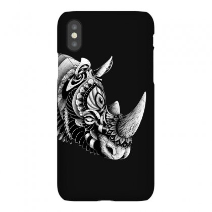 Rhino Ornate Iphonex Case Designed By Quilimo