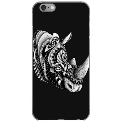 Rhino Ornate Iphone 6/6s Case Designed By Quilimo